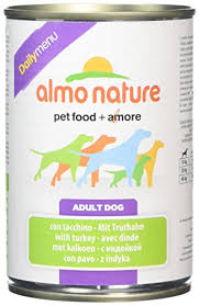 <b>Almo Nature Dog</b> Food <b>Daily</b> Menu with Tur- Buy Online in ...
