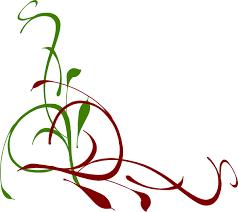 Christmas Swirls Christmas Swirl Clipart