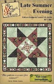 52 best The Quilt & Needle images on Pinterest | Quilt block ... & Late Summer Evening Pattern