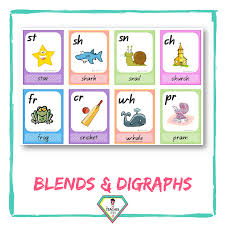 Blends And Digraph Charts The Teacher Hero