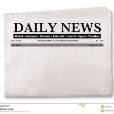 Newspaper First Page Template Newspaper Front Page Blank Templates Corner Intended For Blank