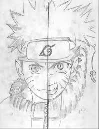 Small Picture Naruto Uzumaki Nine Tailed Fox Drawing Image Gallery HCPR