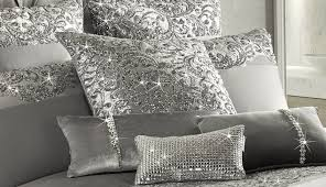 argos sparkly leaf sequin greysilver black leaved foliage dunelm covers velvet grey matching silver sparkle plants