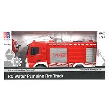 <b>Спецтехника р/у</b> 1:26 Пожарная E572-003 (брызгает водой) +акб ...