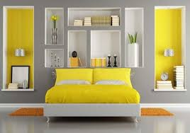 bedroom designs and colors. Beautiful Colors Grey And Yellow Color Scheme Bedroom Design Intended Bedroom Designs And Colors 1