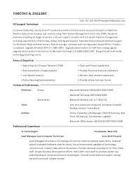 computer support technician resume lube tech job description computer technician job