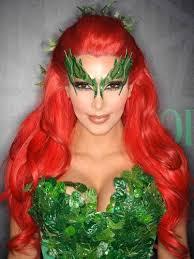 kim kardashian s poison ivy makeup