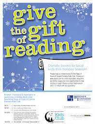 hooked on books and bordner townsend ociates proudly sponsor a holiday book drive beneing bags of hope of central fl kids club