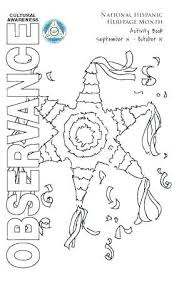 Hispanic Heritage Coloring Pages Hispanic Heritage Month Coloring Pages Onlineqicy Info