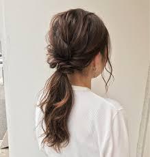 ロング専用ヘアアレンジ結婚式から仕事まで使えるアップヘアhair