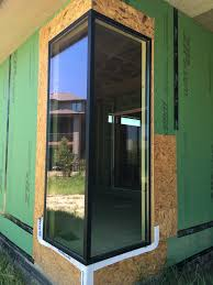 ... Fiberglass Corner Window Construction