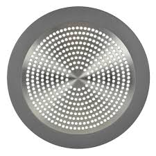 danco shower drain strainer in brushed nickel