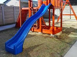 jungle gym slides