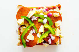 Everyone knows pizza can come in many different forms. Japanese Pizza Toast I Am A Food Blog