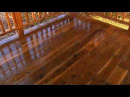 how to properly pressure wash a wooden deck