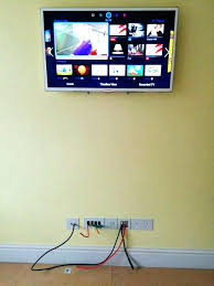 tv cables in wall running cable through wall same idea as the office cables in trunking tv cables in wall