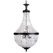 crystal basket chandelier french