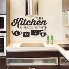 hot large kitchen wall sticker cuisine