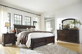 porter queen sleigh storage bed from millennium by ashley furniture ashley furniture bedroom photo 2
