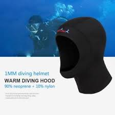 Details About 1mm Adrenalin Neoprene Wetsuit Dive Hood For Diving Wet Suit Face Seal Usa