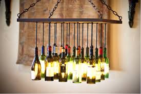 absolutely necessary that you first turn off the power to your ceiling fixture using the circuit breaker before testing your diy wine bottle chandelier
