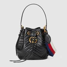 GG Marmont quilted leather bucket bag - Gucci Women's Shoulder ... & GG Marmont quilted leather bucket bag Adamdwight.com