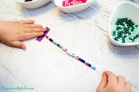 kids will love making these colorful beaded friendship bracelets for their friends these beaded bracelets