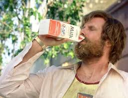 Image result for ron burgundy milk was a bad choice