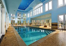 indoor pool house designs. View In Gallery A Multitude Of Windows Surround The Indoor Pool House Designs