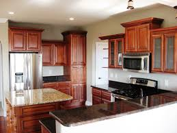 ... Delightful 1010 Kitchen Designs Collection : Awesome 10x10 Wooden Kitchen  Design With Square Beige ...