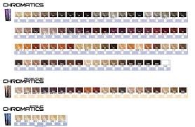 Redken Color Fusion Chart 2017 Redken Chromatics Color Chart Redken Chromatics Redken