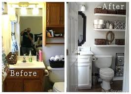 small bathroom makeovers. Small Bathroom Makeovers Makeover Ideas On A Budget With Walk In Showers .