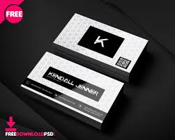 Free Personal Cards Personal Business Card Psd Template Freedownloadpsd Com