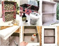 wall shelf ideas diy home decor idea wall shelf cardboard paint napkins wall shelves ideas diy