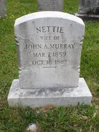 """Sarah Jeannette """"Nettie"""" Summers Murray (1859-1883) - Find A Grave Memorial"""