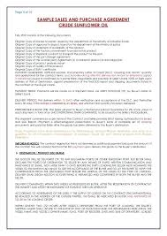 4 Page Of Sales And Purchase Standard Sale Agreement For Real Estate ...