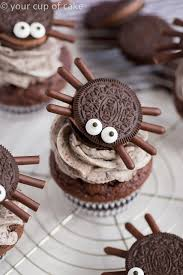 halloween spider cupcakes.  Spider Halloween Oreo Spider Cupcakes That Kids Can Help Make Throughout O