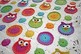 Crochet Owl Blanket Pattern Free Delectable Free Crochet Patterns
