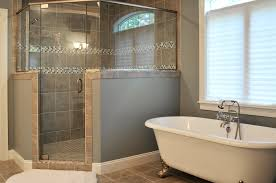 Larger showers are trendy, but are you willing to sacrifice a tub? Or will  the master be large enough to feature a soaker tub?
