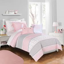 lovely white gray pink girl jcpenney bedding sets for bed covering idea