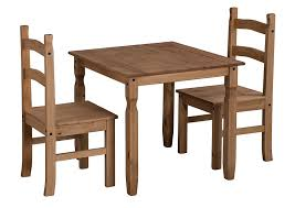 Dining Table With 2 Chairs Julian Bowen Coxmoor Square Dining Table Set With 2 Chairs Light
