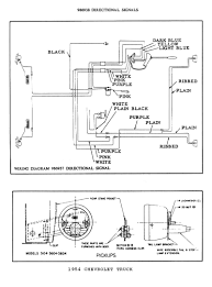 chevy wiring diagrams wiring 2 · 1954 truck directional signals
