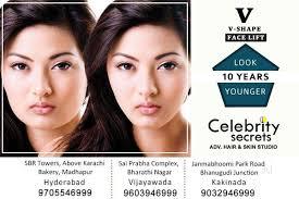 celebrity secrets beauty clinics for hair treatment book appointment beauty clinics for hair treatment in bharathi nagar vijayawada justdial