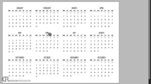 Designing A Calendar In Indesign How To Create A Calendar Indesign Tutorial