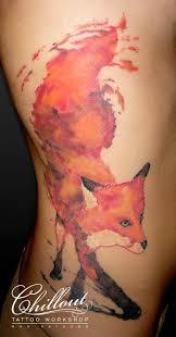 татуировка лиса значение фото Chillout Tattoo Workshop