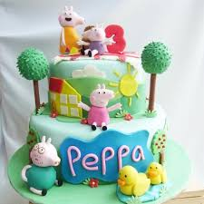32 Creative Photo Of Peppa Pig Birthday Cake Entitlementtrapcom