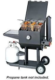 outdoor propane cooker stand