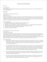 Sample Of Job Resume Or Career Goals Examples Objective Mmventures Co