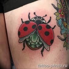 фото идея тату божья коровка 22122018 313 Photo Ladybug Tattool
