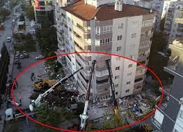 İzmir'deki depremin ardından dikkat çeken görüntü